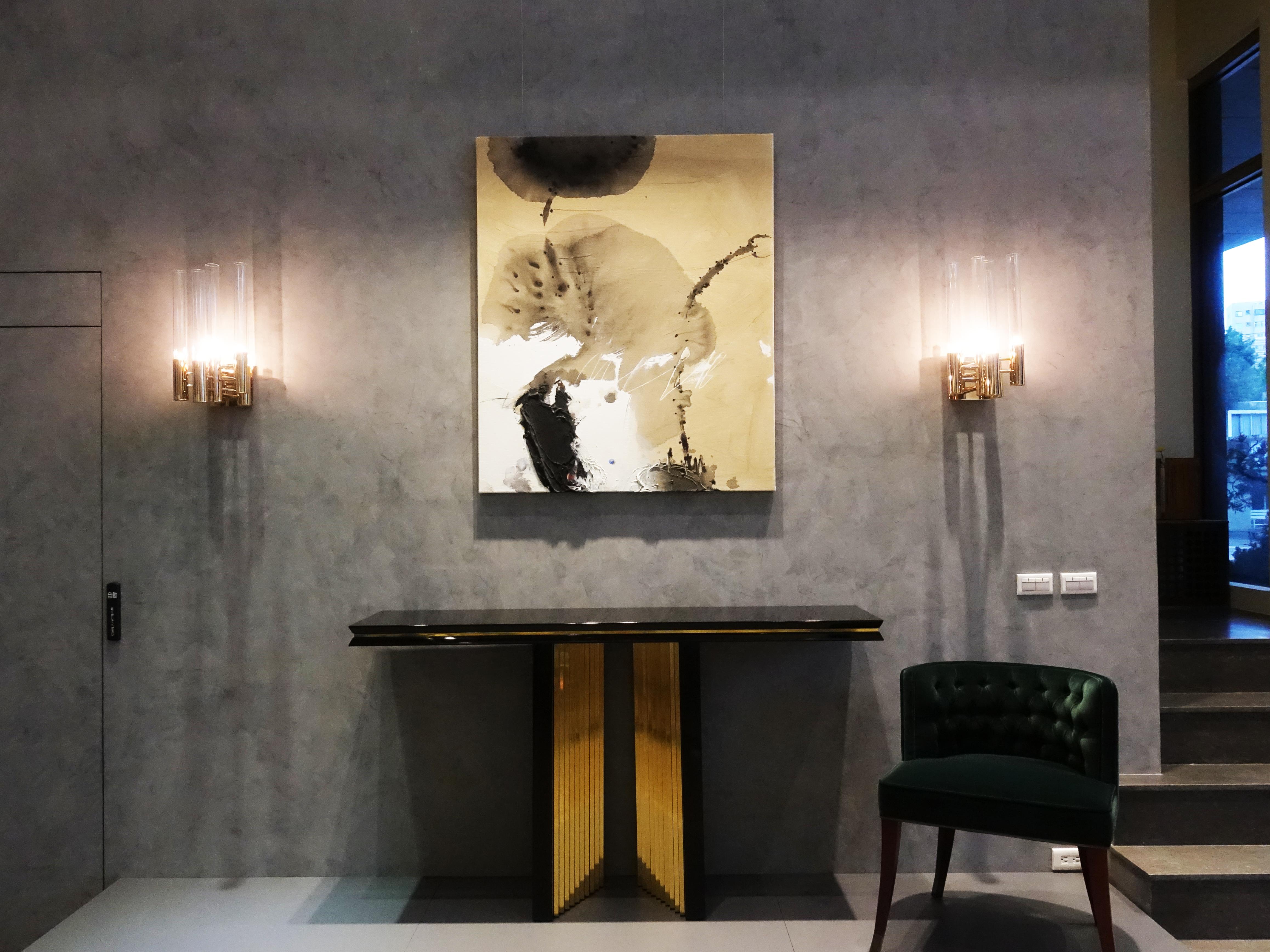 Chens Art Gallery 展出藝術家黃耀堂抽象作品。