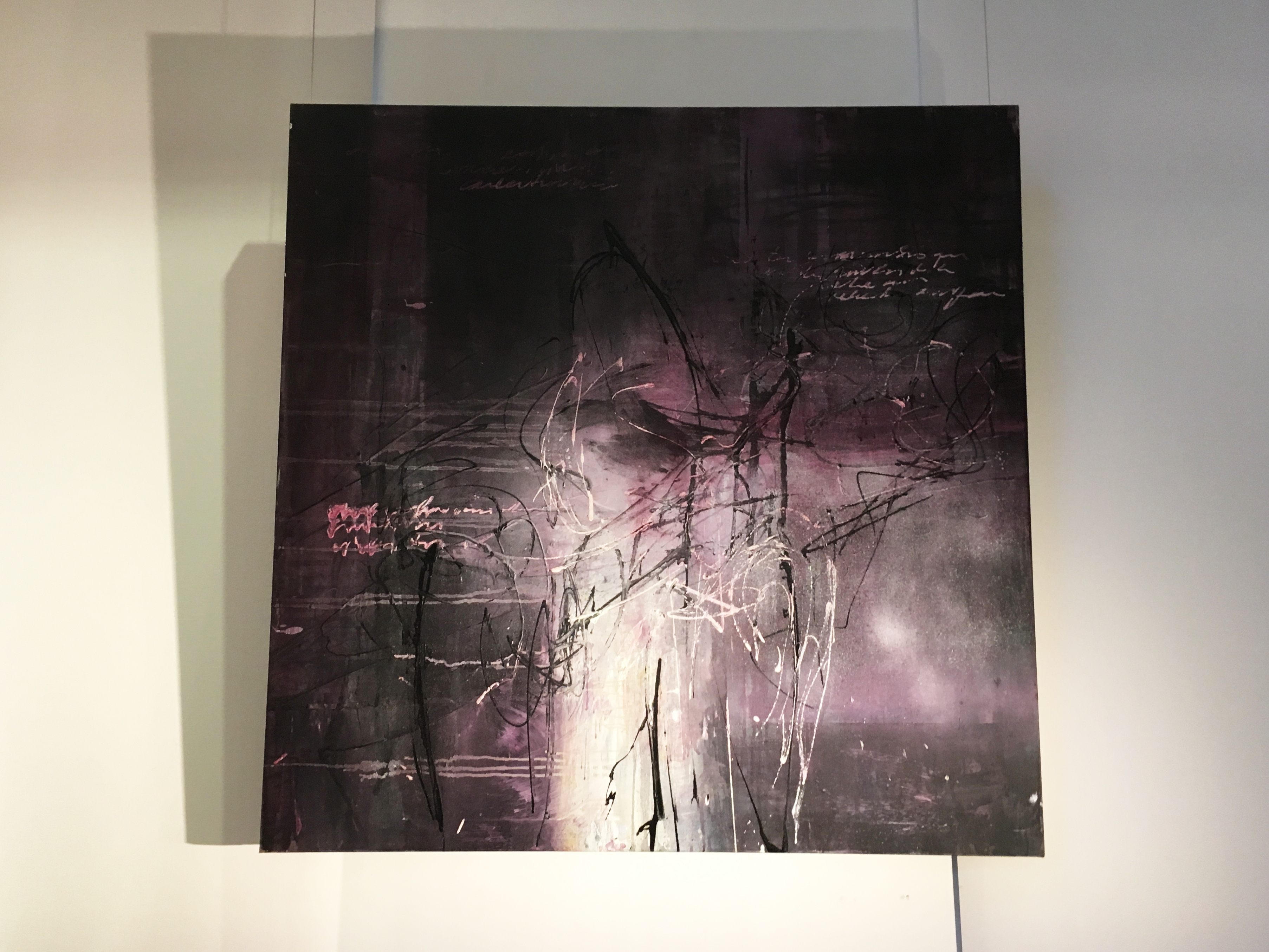 Víctor Ramírez,《Inspriracion》,130x130 cm,Acrylic on Canvas,2017。