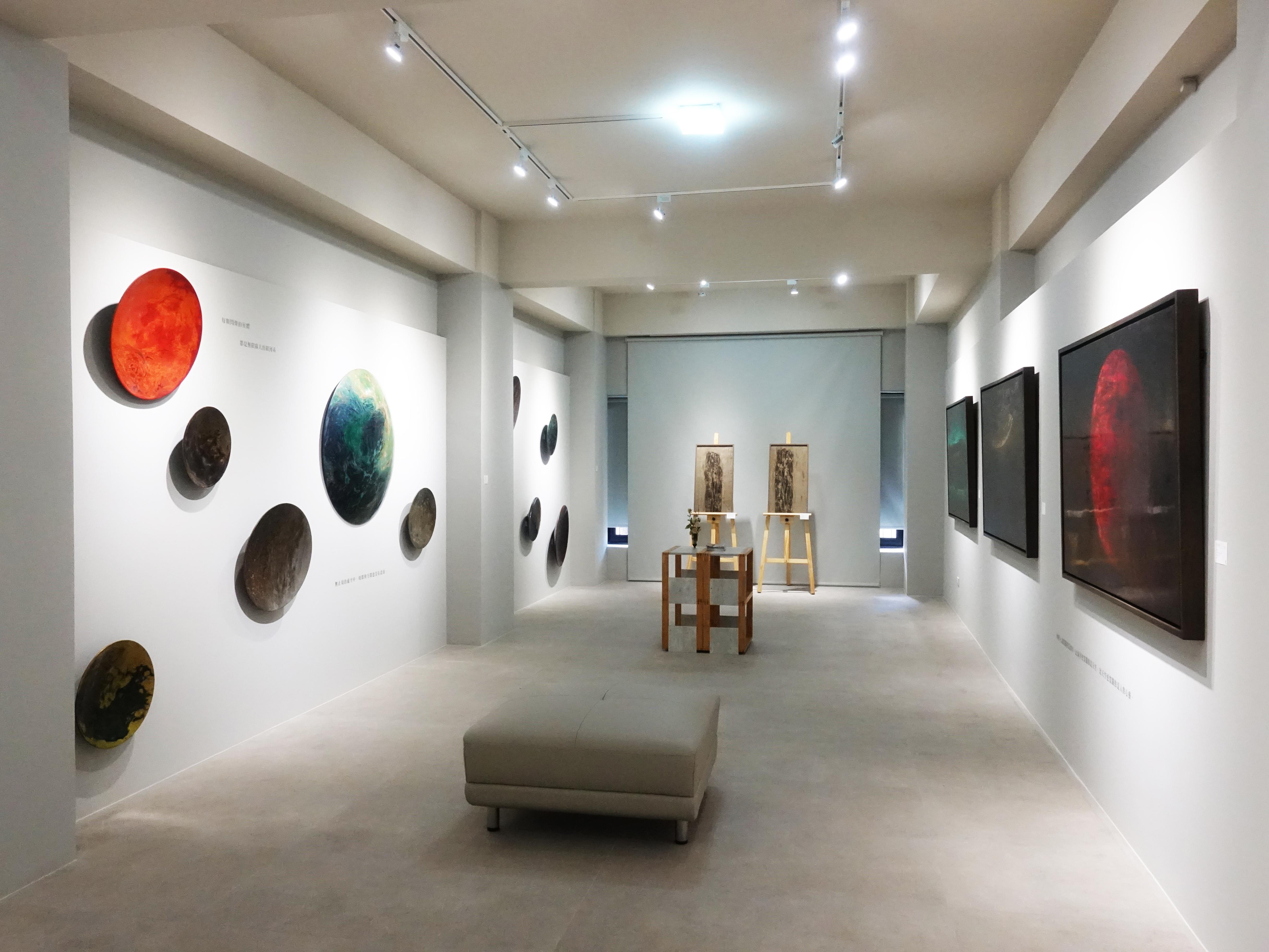 正觀藝術二樓展覽空間。