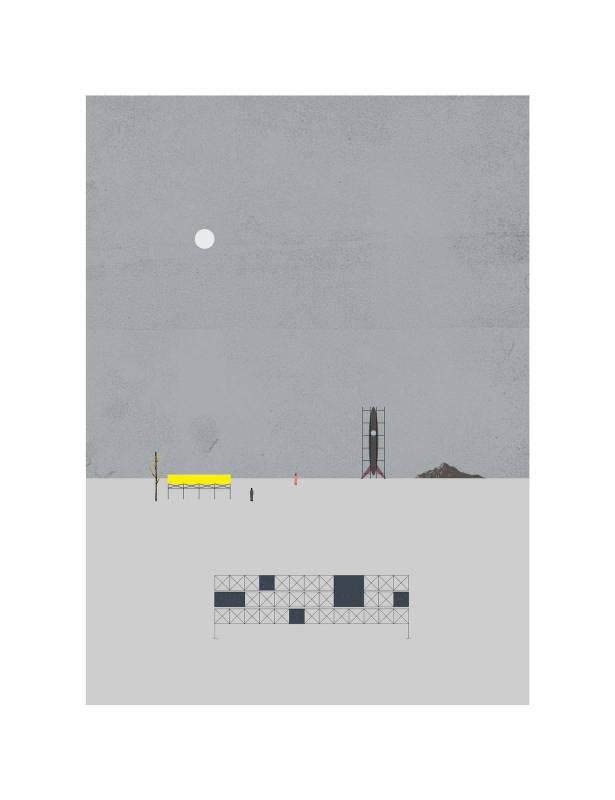 黃照達, 星光大道, 藝術微噴印畫紙本, 50.5 x 65.10 cm, 2019