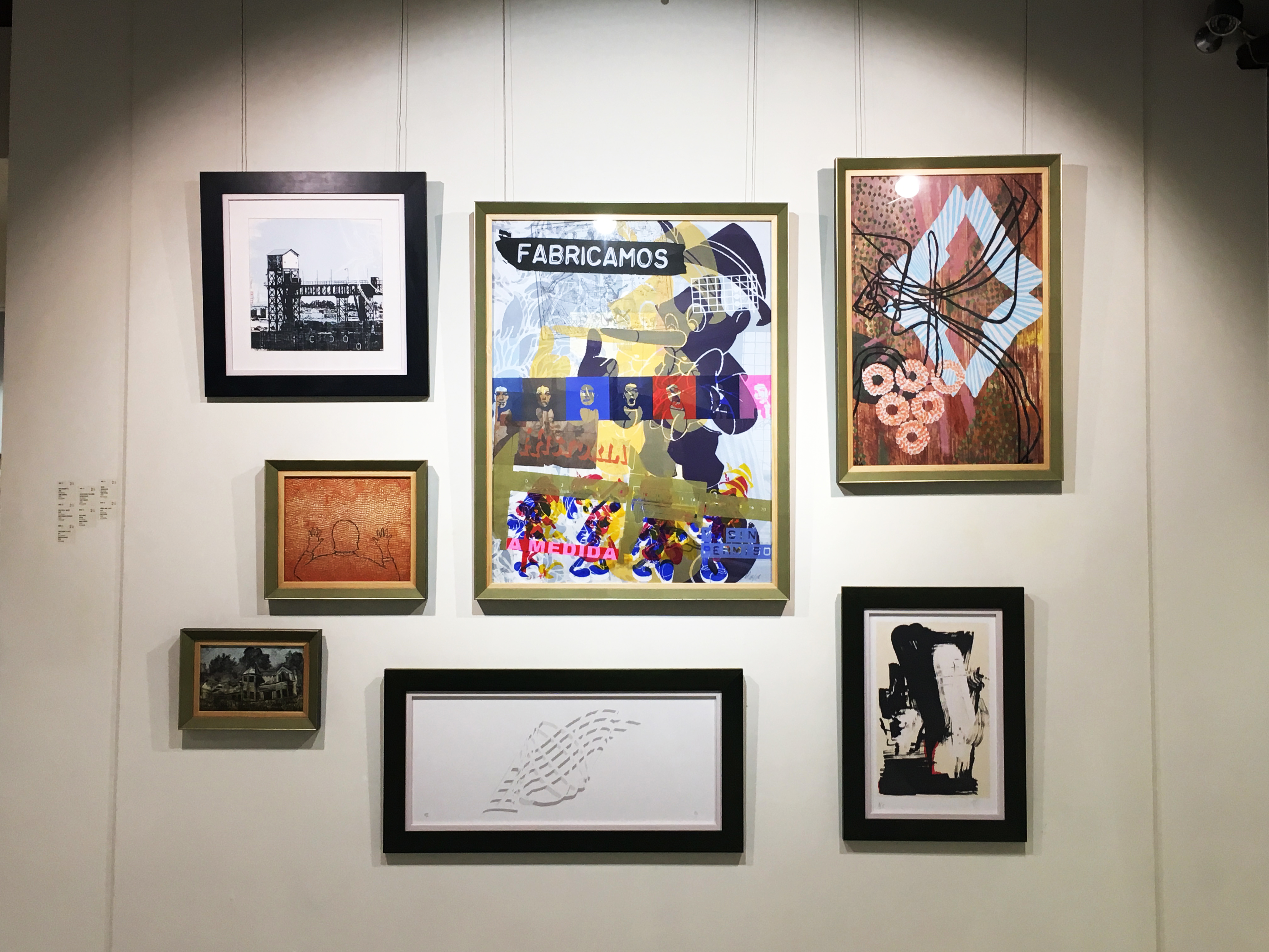 二空間展出臺灣、西班牙藝術家版畫交流展《自然》。