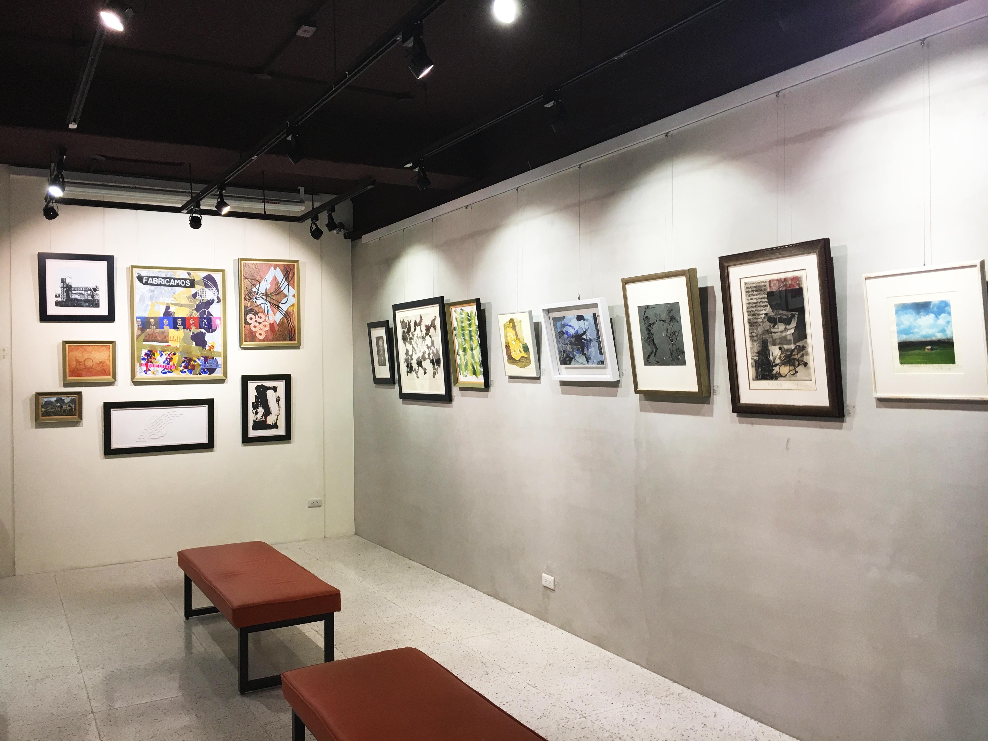二空間展出臺灣、西班牙藝術家版畫交流聯展《自然》。