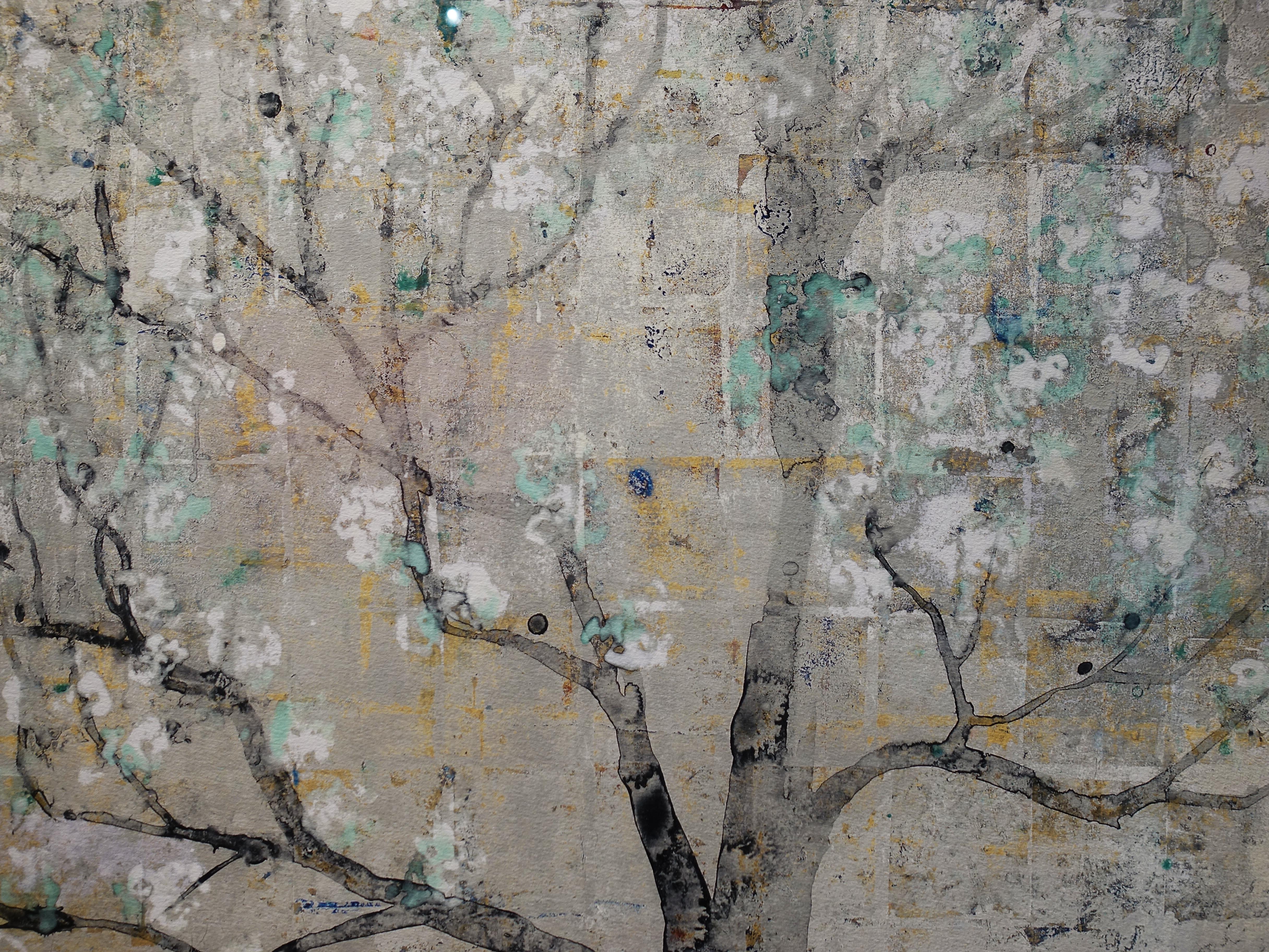 Makoto Fujimura,《Ki-Seki(Miracle)》細節,152.4 x 121.92 cm,藝術版畫,2045。