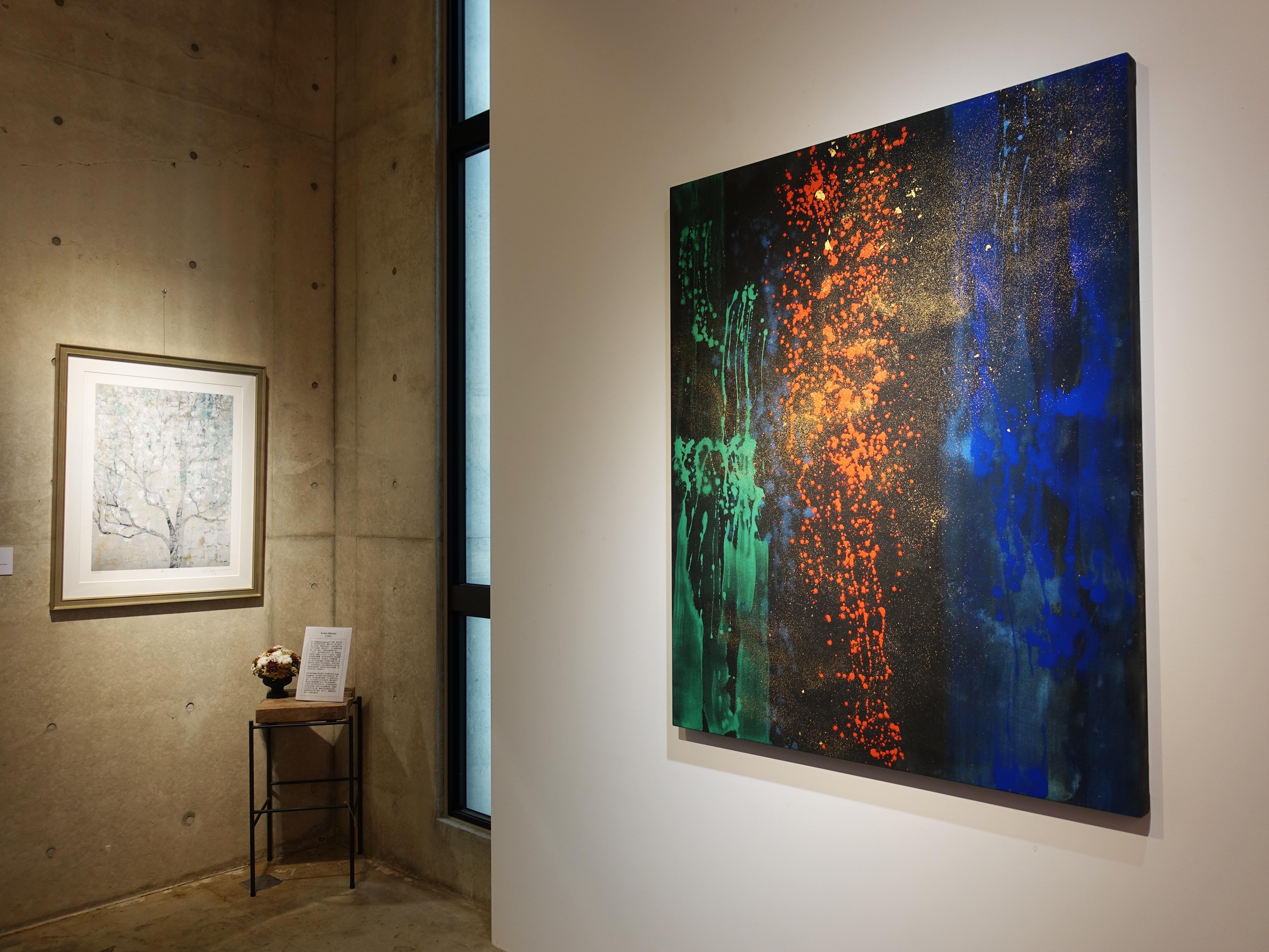 正藝美學展出日本藝術家藤村真-新作精選展。