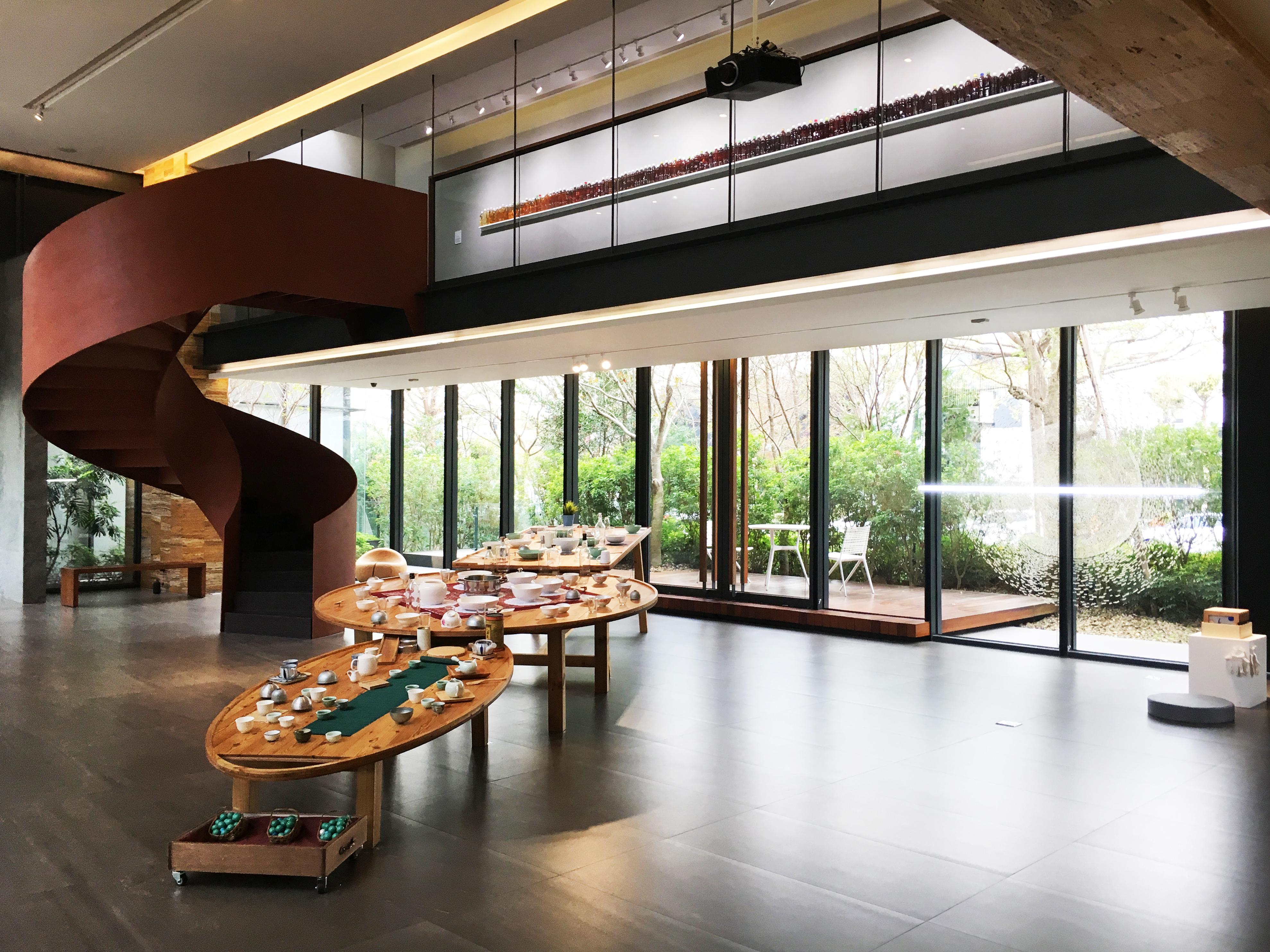 陸府生活美學教育基金會展覽空間。