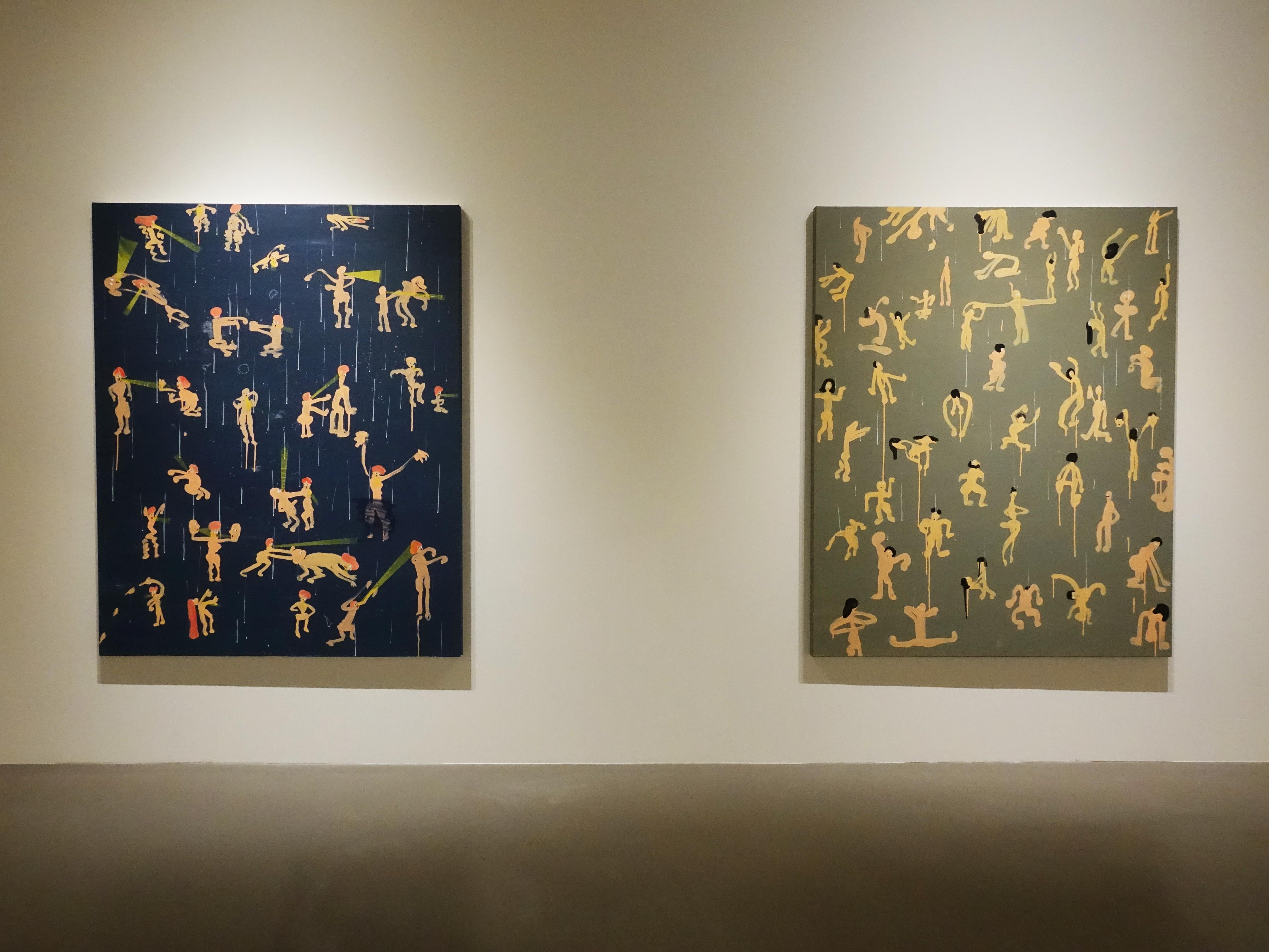 蕭筑方於非畫廊展出創作個展《很危險,請大家不要靠近》。