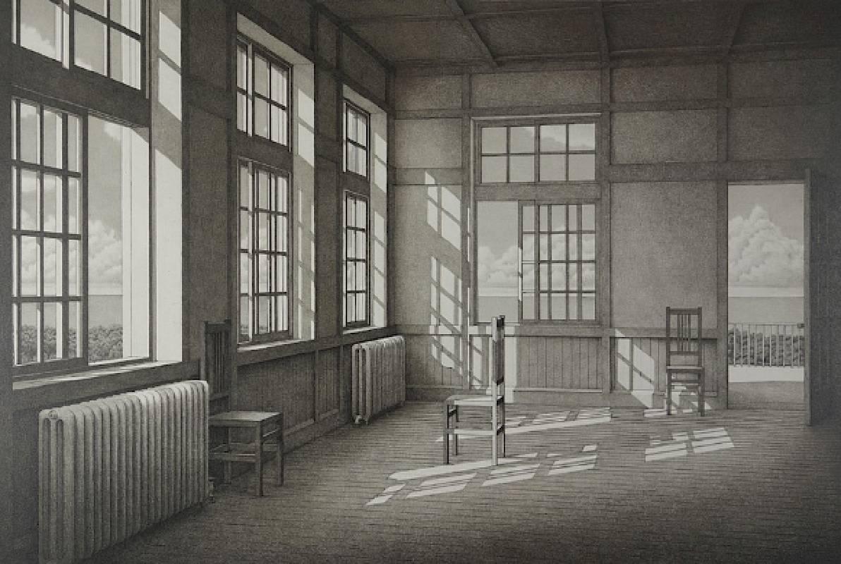 山本桂右 石版畫1