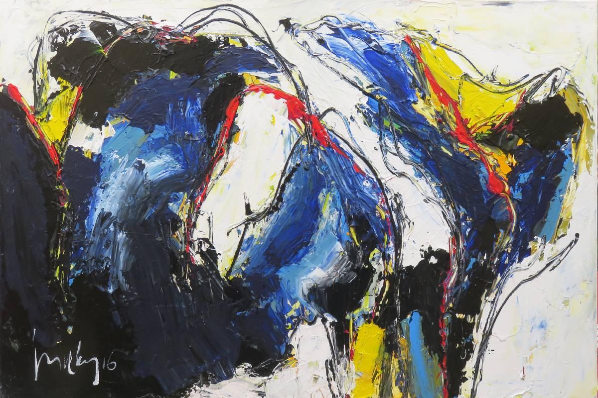 Jos van den Berg, Taiwan Taroko, 100 x 150cm, Acrylic on Canvas,2018
