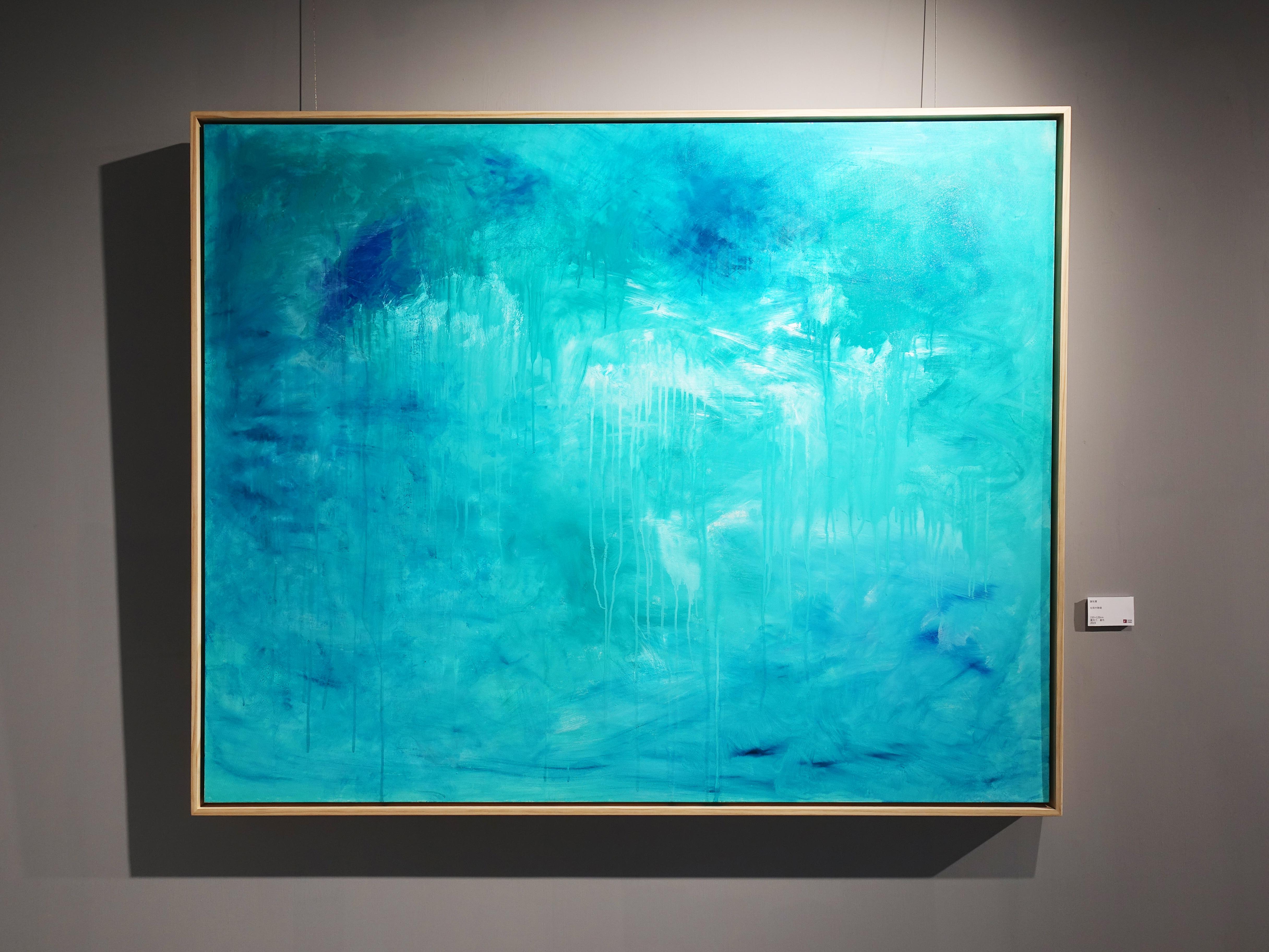 謝宛儒,《Show White》,130 x 194 cm,油彩、畫布,2020。