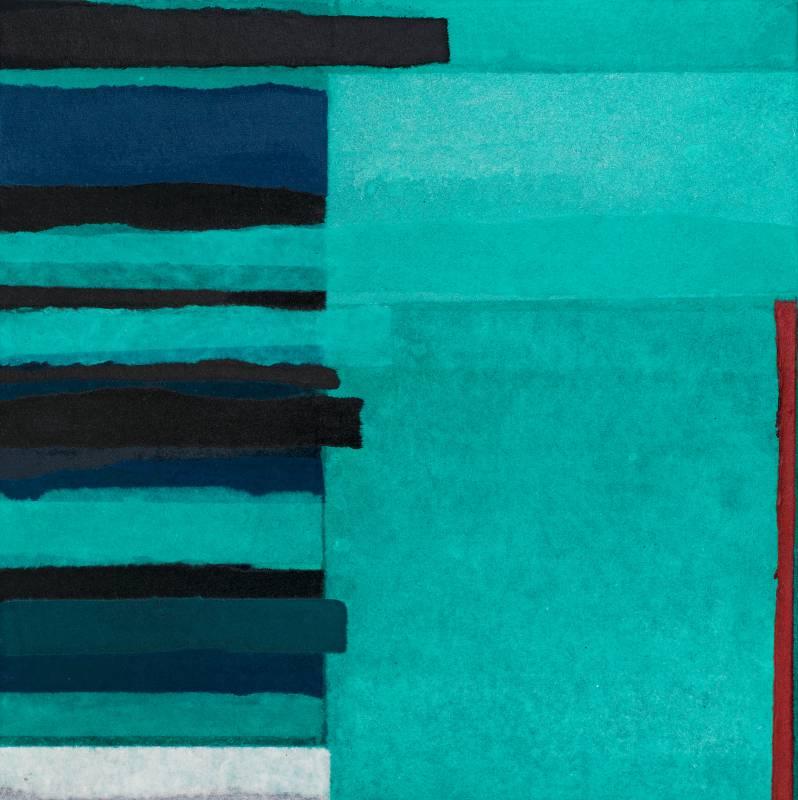弦外之音,50x50cm,複合媒材,2019