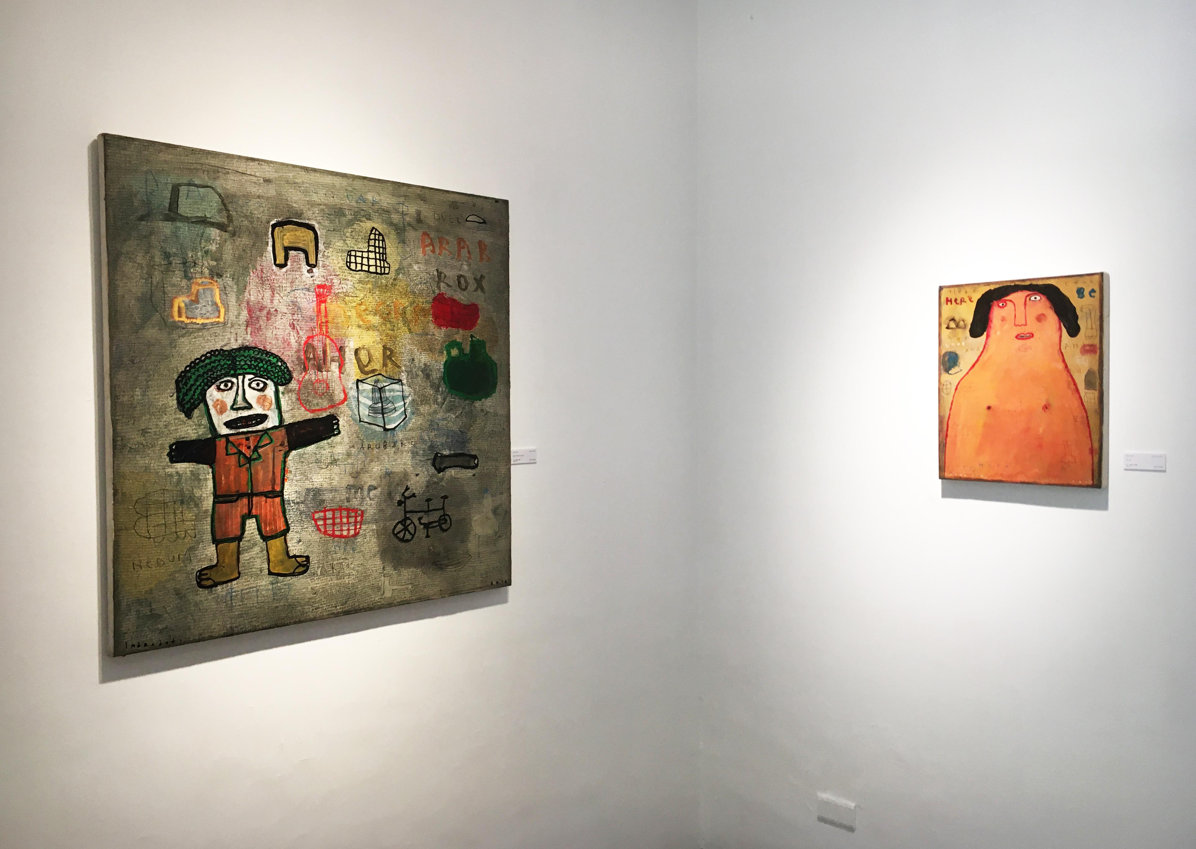 雅藝藝術中心展出藝術家Indra Dodi作品。