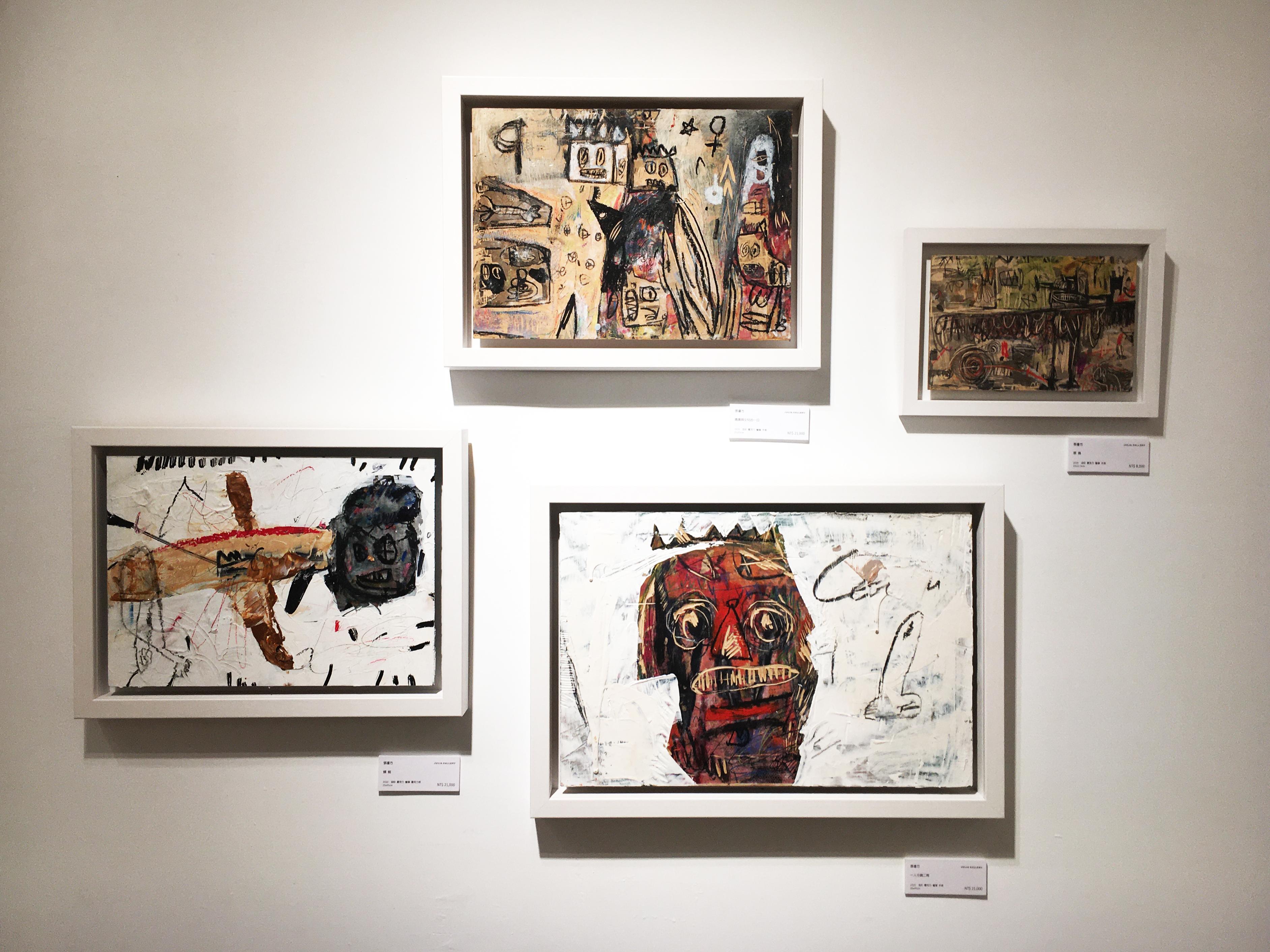 雅藝藝術中心展出藝術家張瓊方系列作品。
