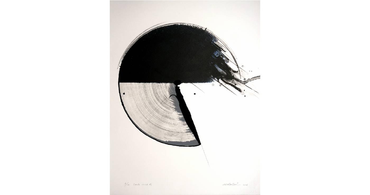松谷武判 Takesada MATSUTANI | Cercle 05-06 円 | 66.5 x 50.2 cm | Lithograph | 2005