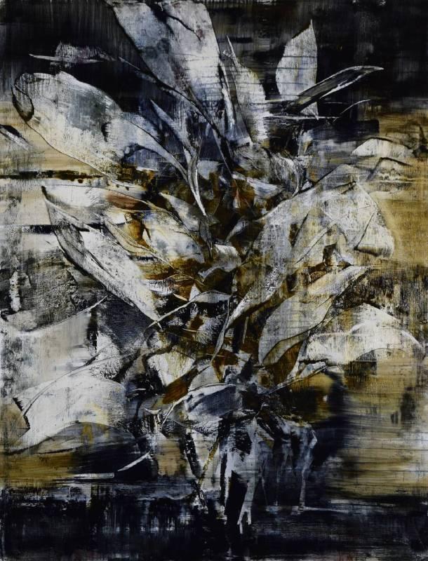 周宸, 庚子仲春十九, 112X145.5 cm, 油彩畫布, 2020