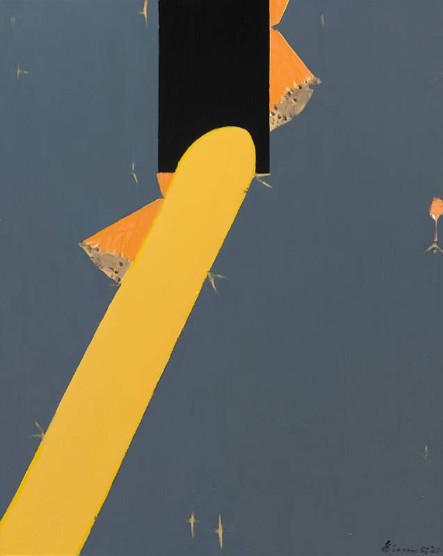 劉永仁_方向之往之一 Heading Direction 1_油彩 畫布 oil on canvas_91x72.5cm_2020
