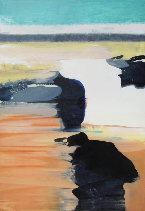 張驊-海浪-油畫-162x112cm-2020
