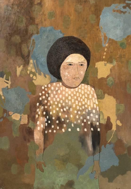 邵英莉 / 照見五十後 / 116.5x91cm / Oil on Canvas / 2020