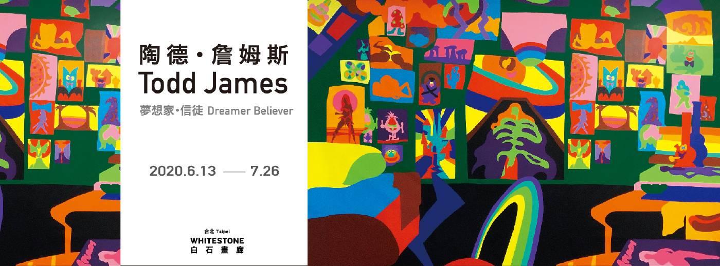 Todd James solo exhibition, Whitestone Gallery