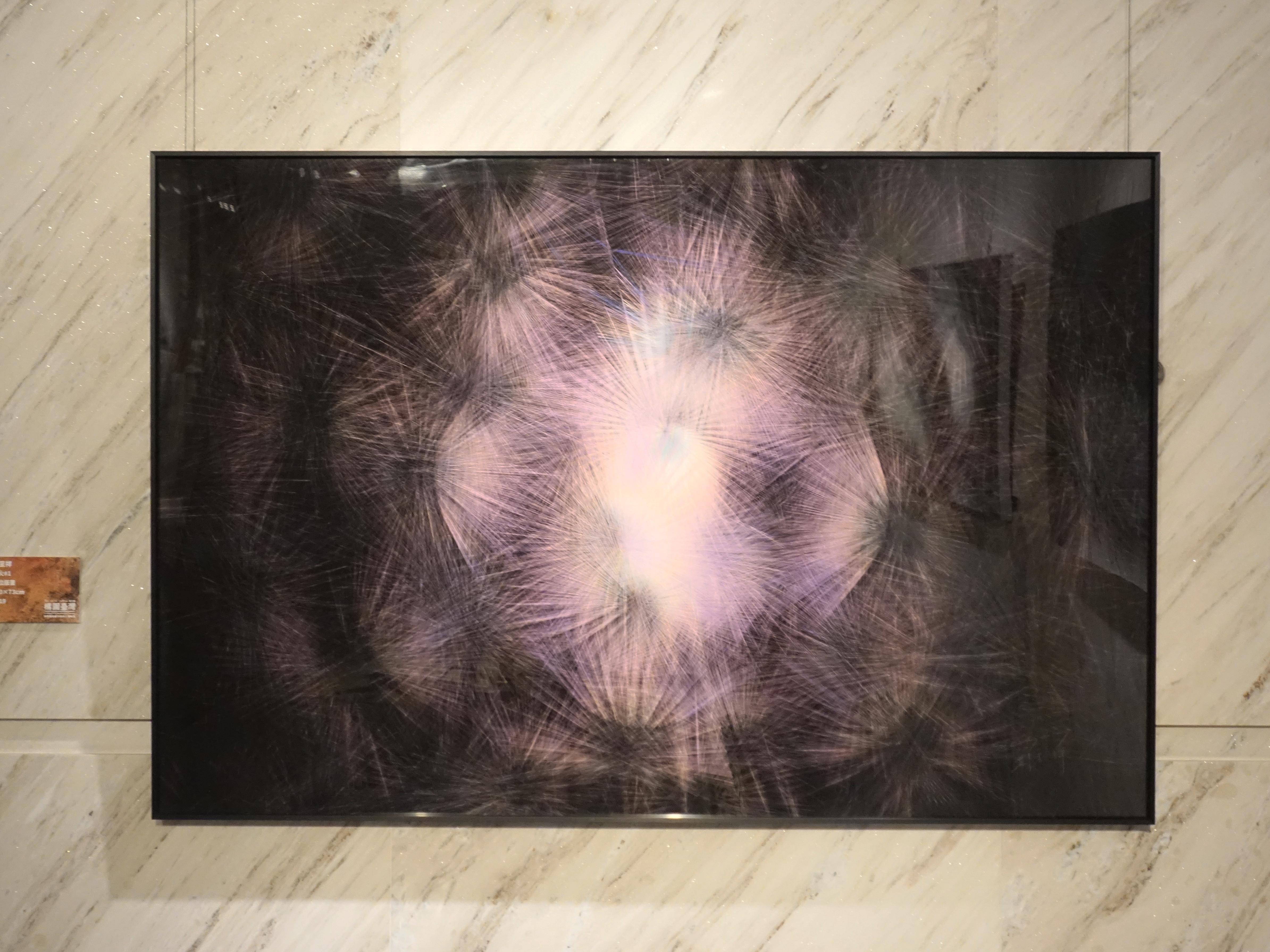 劉呈祥,《星火31》,數位版畫,110x73cm,2019。