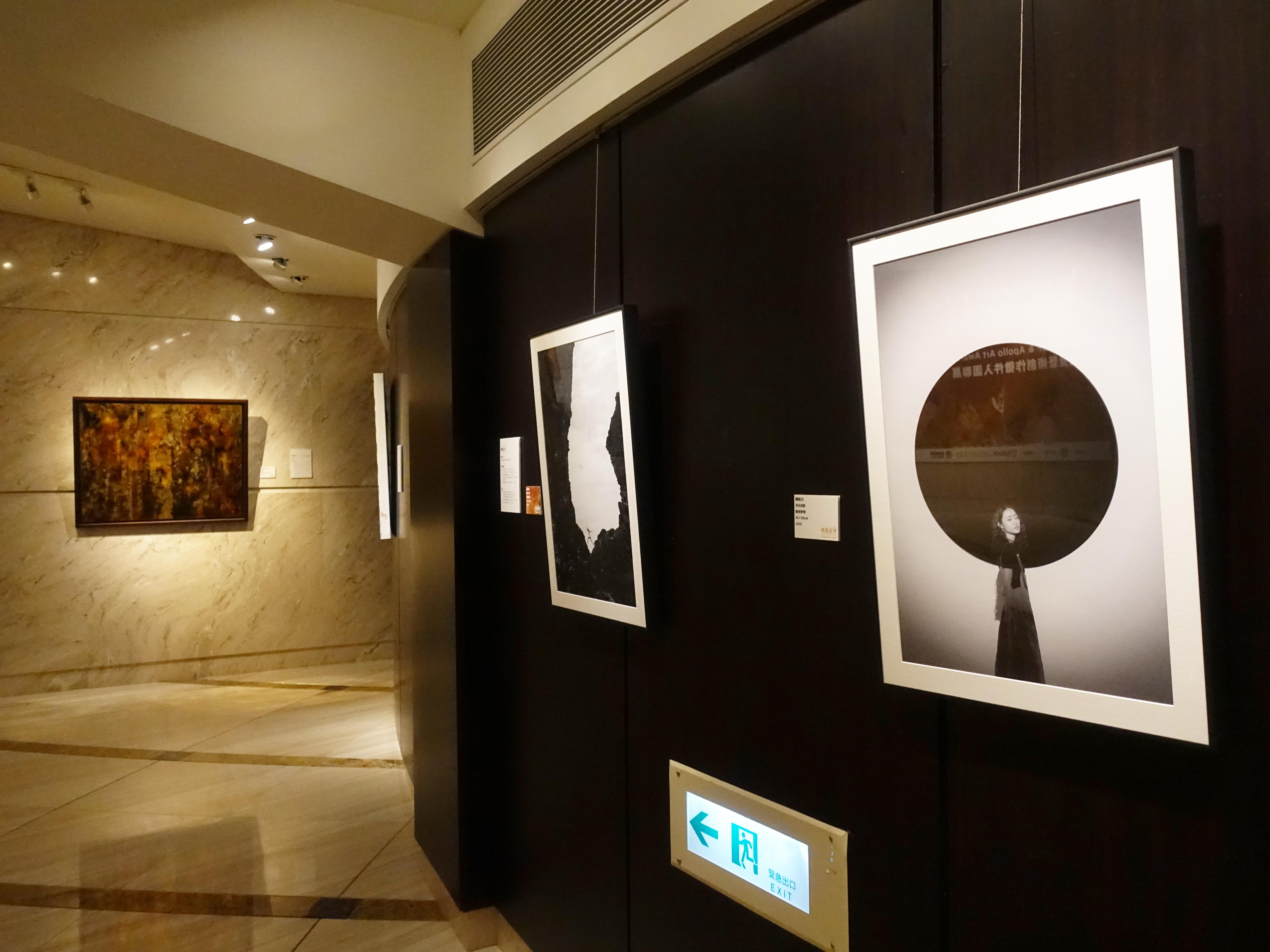 王道銀行基金會展出第三屆【構圖‧臺灣】視覺藝術創作徵件入圍聯展。