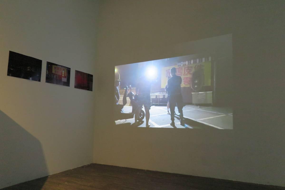 《夜間快閃計畫——我的展場》複合媒材,視場地而定_01