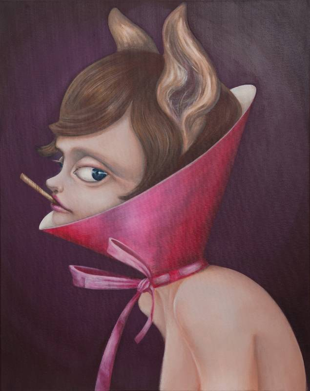李詩儀《自畫像》