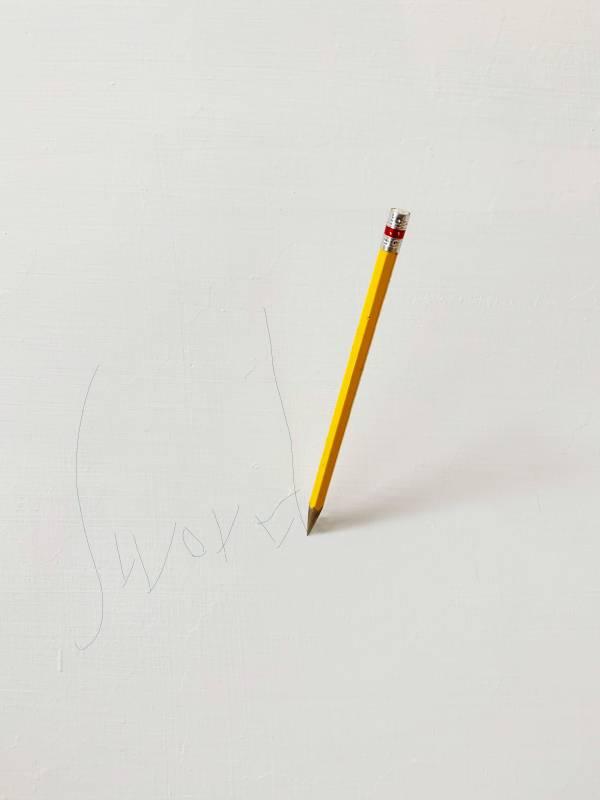 劍 Sword, 銅、油彩上色, 尺寸依場地而定, 2020