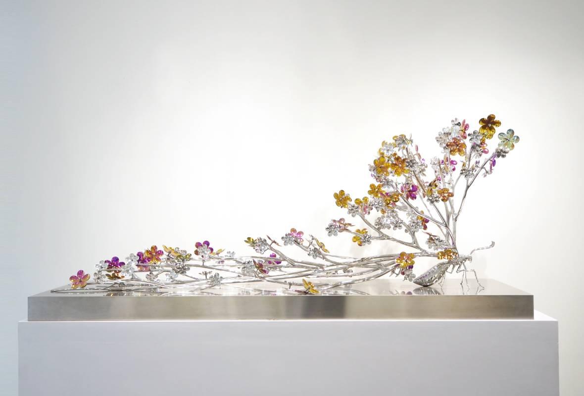 高孝午|再生蝴蝶|165x50x68cm|不鏽鋼|2017
