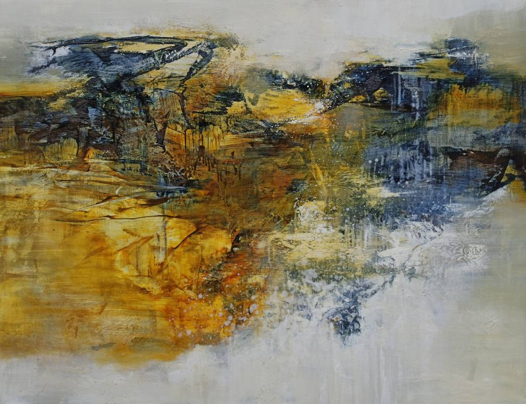 周宸 Chou Chen / 庚子孟夏廿 20200512 油畫oil on canvas 112x145.5 cm 2020