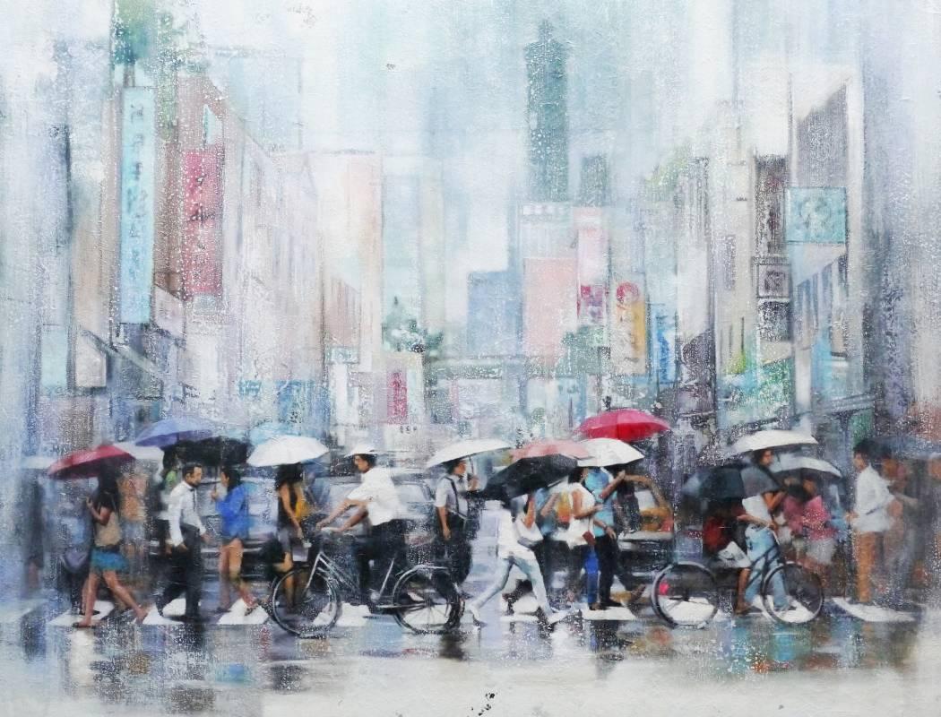 首 獎:薛宏瑋 /〈3:50分台北下著雨〉