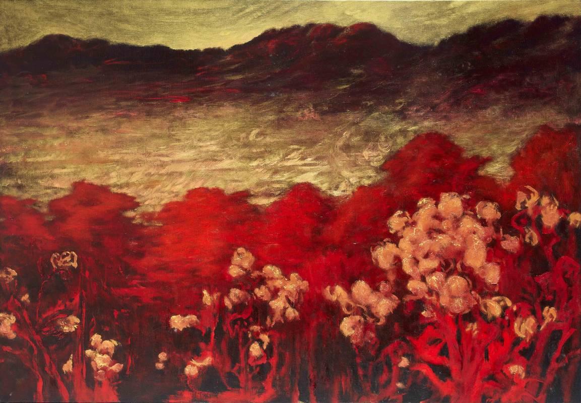 泱, 油彩、畫布, 112x162cm (100P), 2007