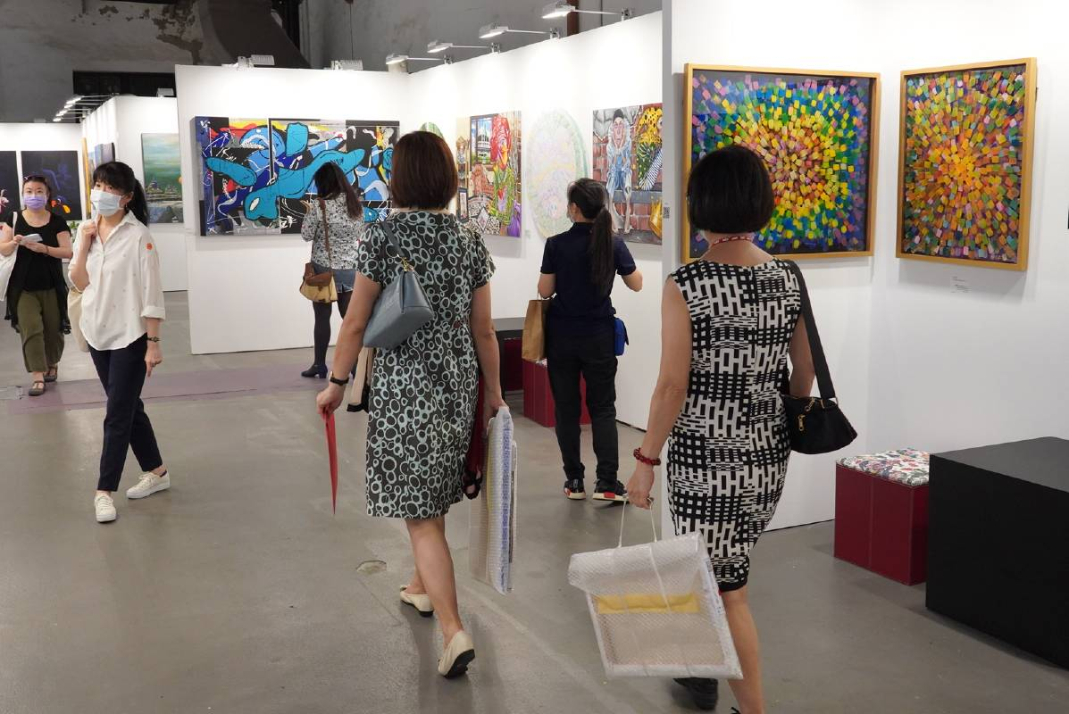 「2020台北新藝術博覽會‧番外篇」特展,女性藏家比例提升。