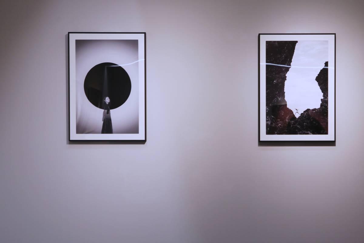 第三屆視覺藝術創作徵件入圍作品聯展/展覽場景
