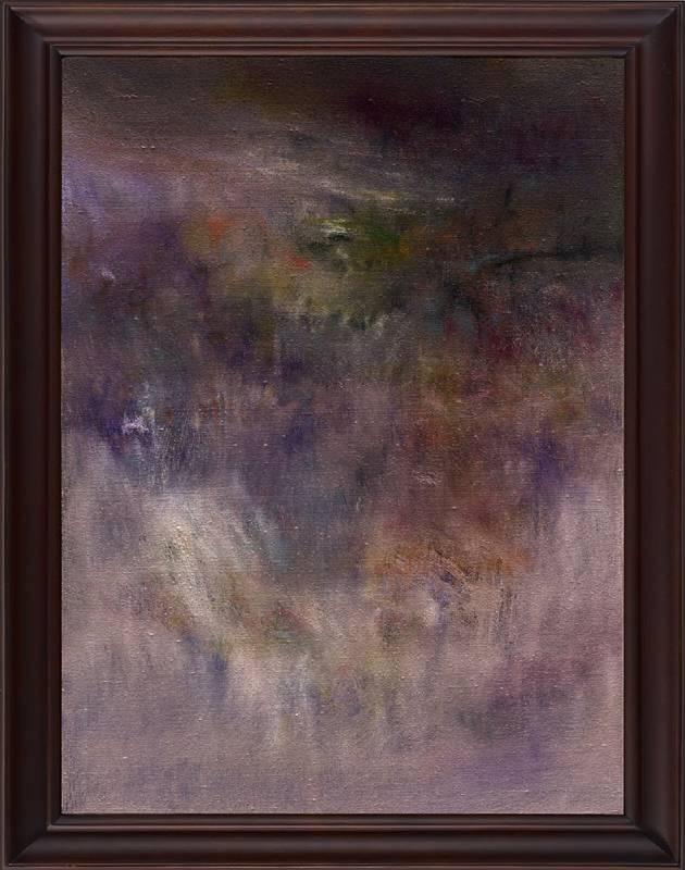 《反記憶 #2》 Antimemory #2  2020   油彩、畫布 Oil on canvas 76 x 61 x 5 cm