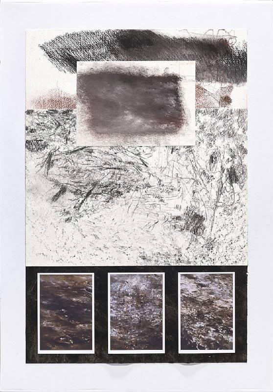 《抗歸檔 #10》 Antiarchive #10  2020 紙本作品 Assemblage 76.5 x 51 cm (Framed)