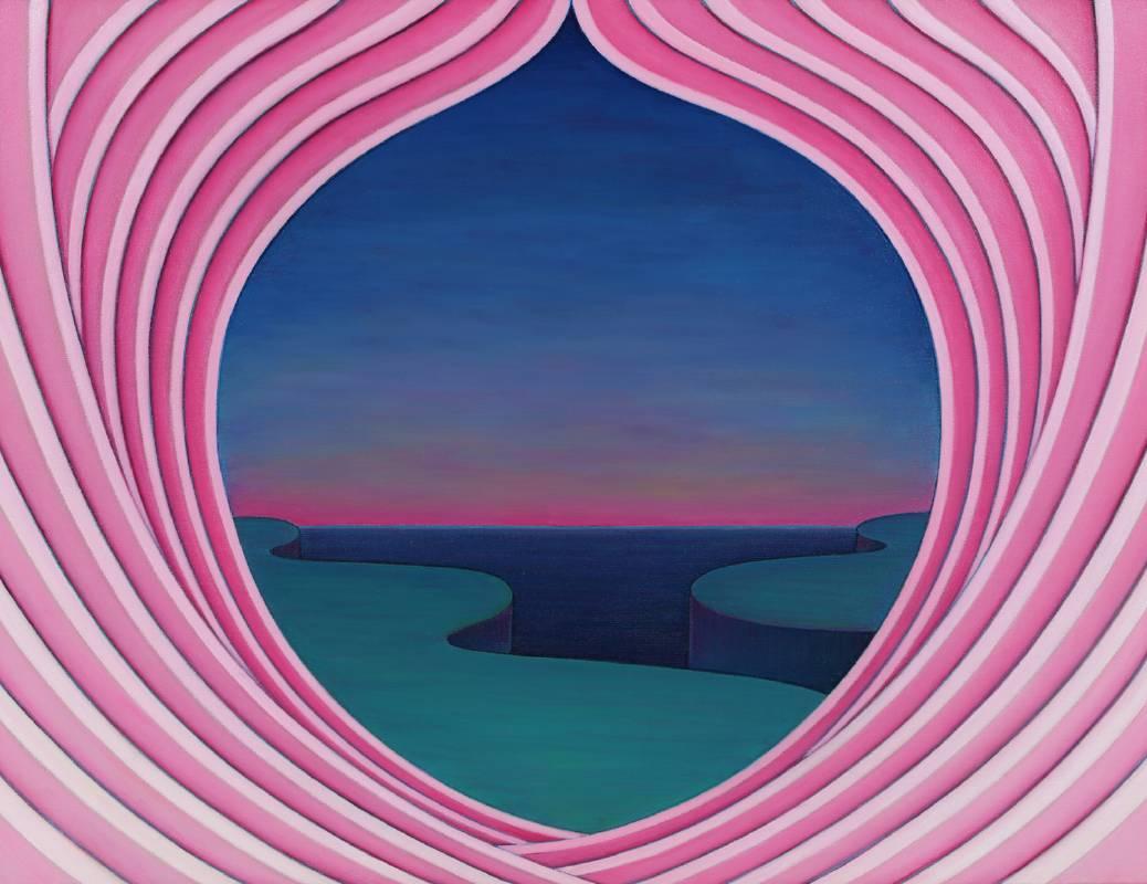 尋道70號, 油彩、畫布, 84x63.5cm, 1995
