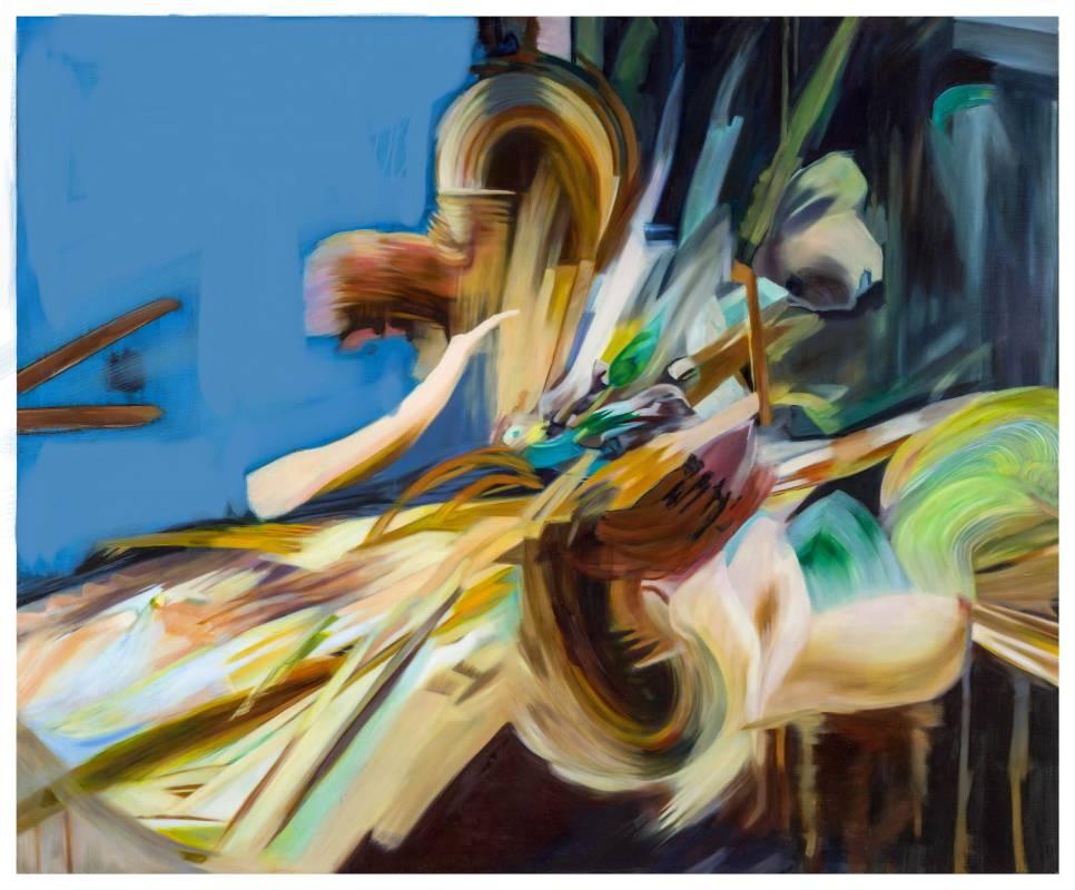 漂浮 2017-3 The Floating 2017-3,165 x 200 cm, oil on canvas 油彩、畫布,2017, NT$660,000.00