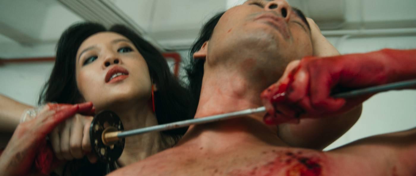 〈女性的復仇〉,2020,五頻道裝置,15'00''