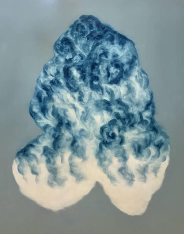《雲之物 15》,145 x 112 cm,油彩畫布,2020