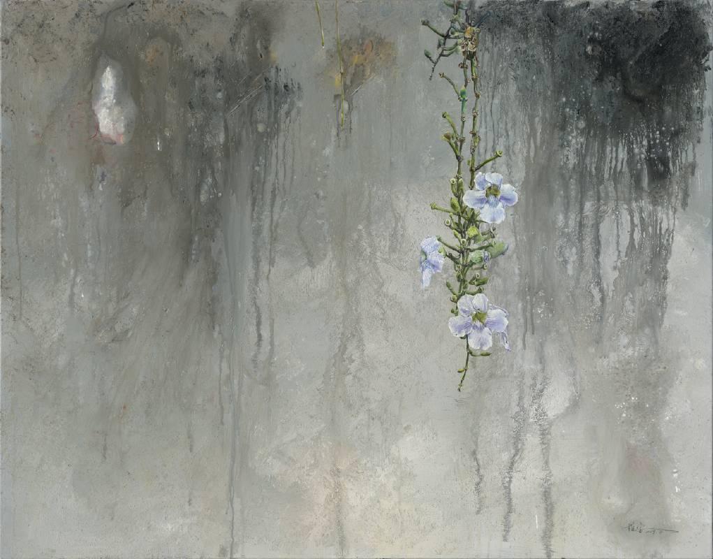 《清和 Tranquillity》壓克力.油畫115x89cm