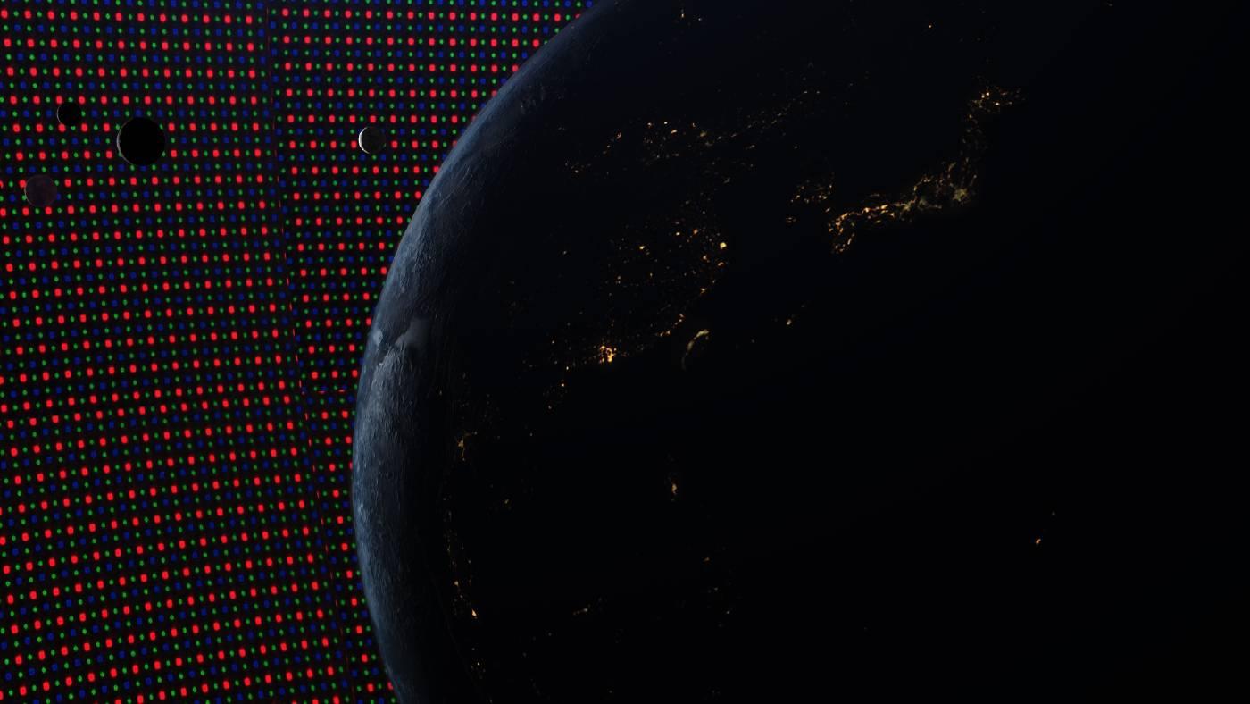 《發光半導體未來》,錄像裝置,影像截圖,2020(吳其育提供)