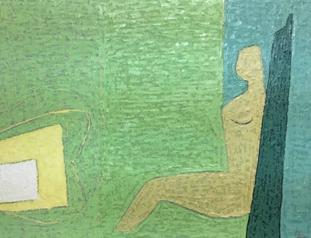 室內_50號_油畫