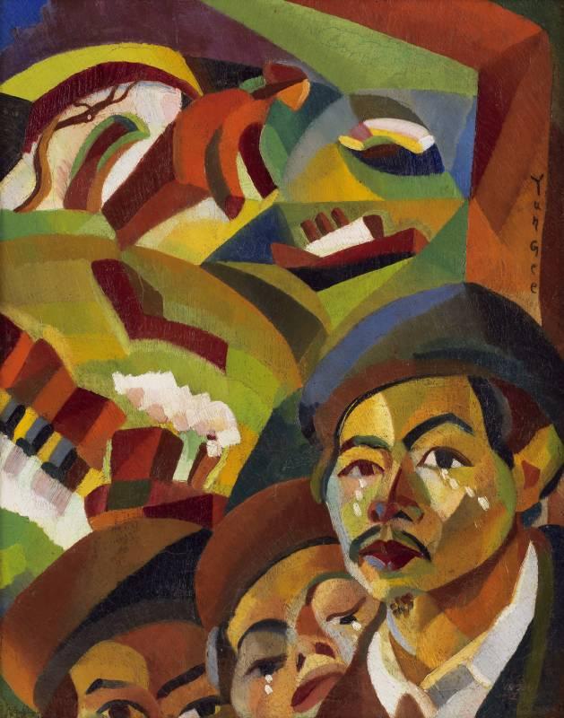 朱沅芷,〈我的母親在何方〉,1926-1927,油彩、畫布,51 X 40.3 cm