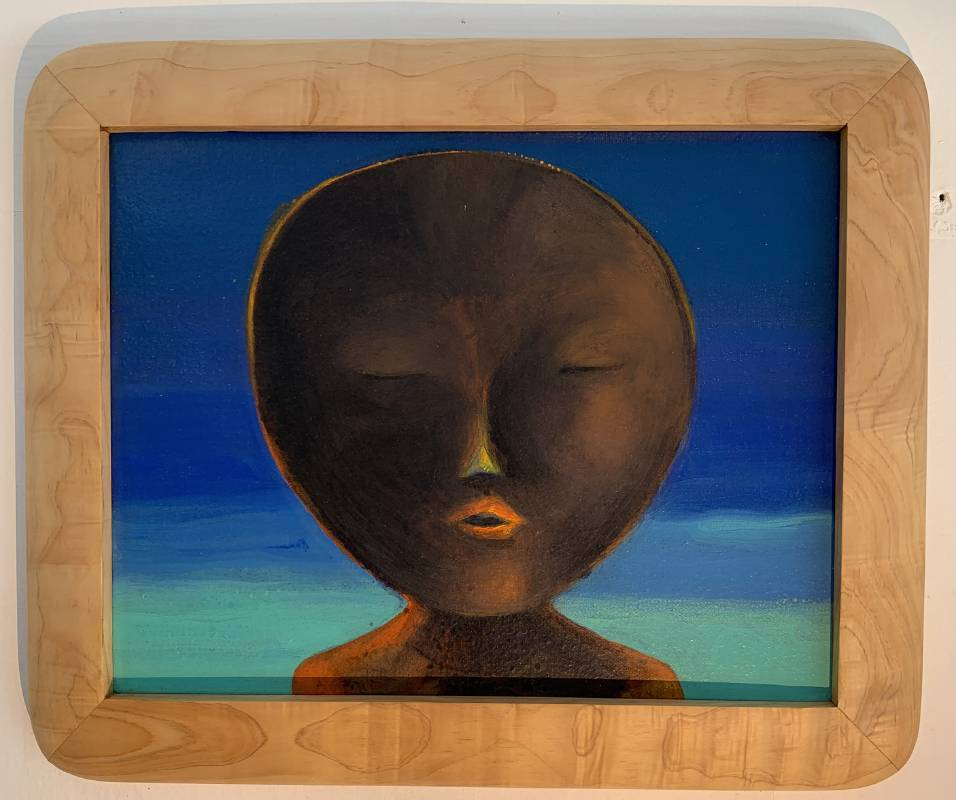 葉海地,《Magamong》,34×28公分,2019。圖/台北當代藝術館提供
