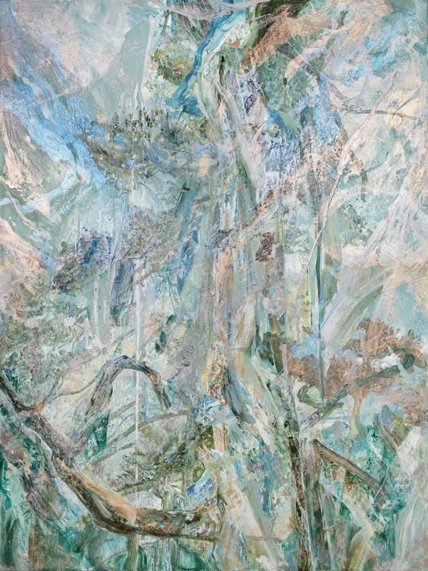 森林20,壓克力顏料、畫布,150x200cm,2019
