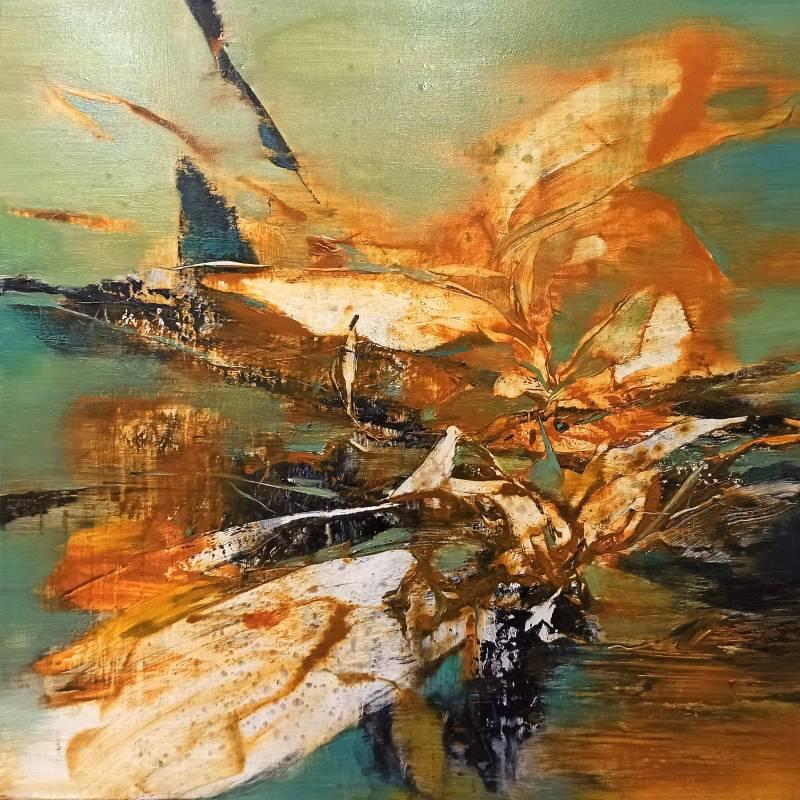 周宸 Chou Chen / 庚子季秋廿六 20201111 油畫 Oil on Canvas  69x69cm  2020