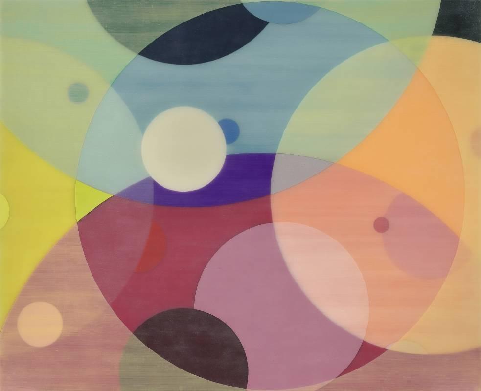 Yuki Yamamoto山本雄基_Untitled_Acrylic on canvas_2020(yy008)_110x135cm