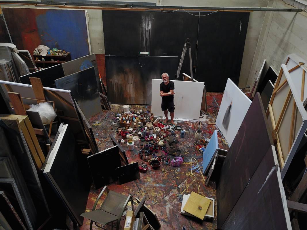 藝術家林鴻文工作室。圖/金馬賓館當代美術館提供