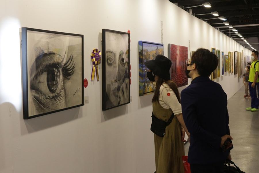 「國際藝術家大獎賽」參賽者獲得首獎的藝術家,將可獲得「2022 台北新藝術博覽會」展位。