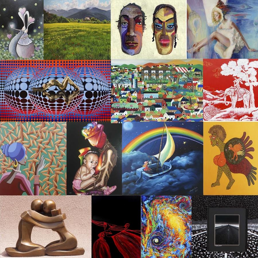 「國際藝術家大獎賽」創作不限主題,廣納多元藝術創作,只要作者年滿18歲,皆可參加。